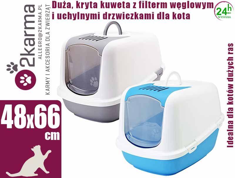912836cca98e1d Savic - Kuweta kryta z filtrem Nestor Jumbo dla kota - Karma dla zwierząt -  sklep